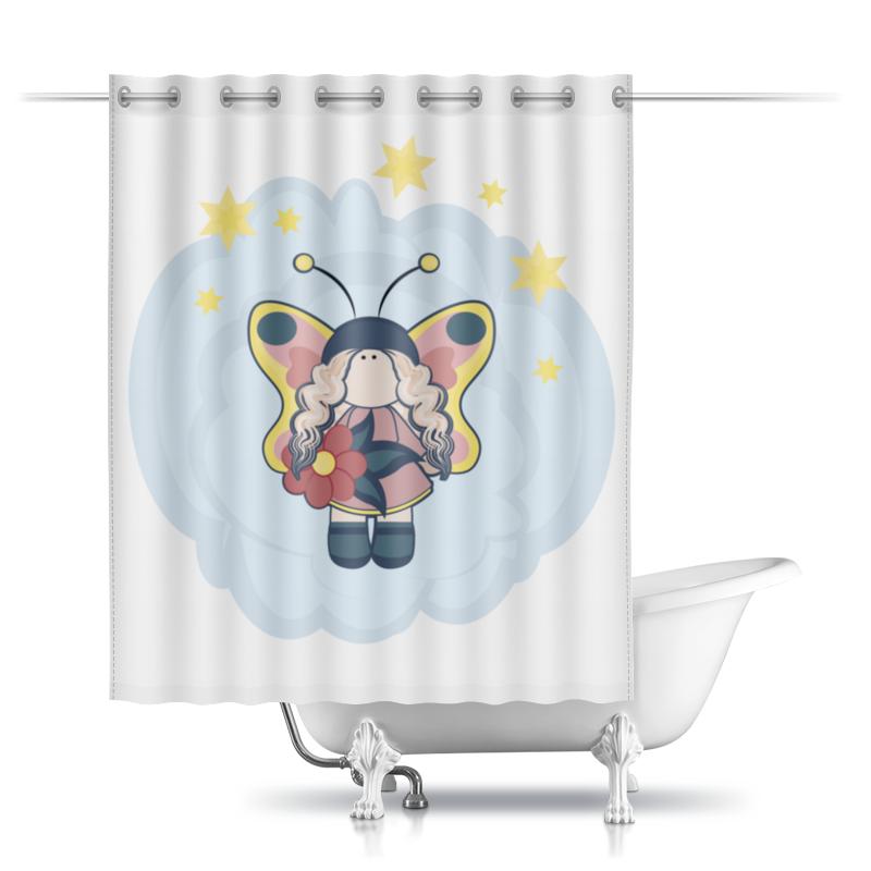 Printio Шторы в ванную Феечка на облачке