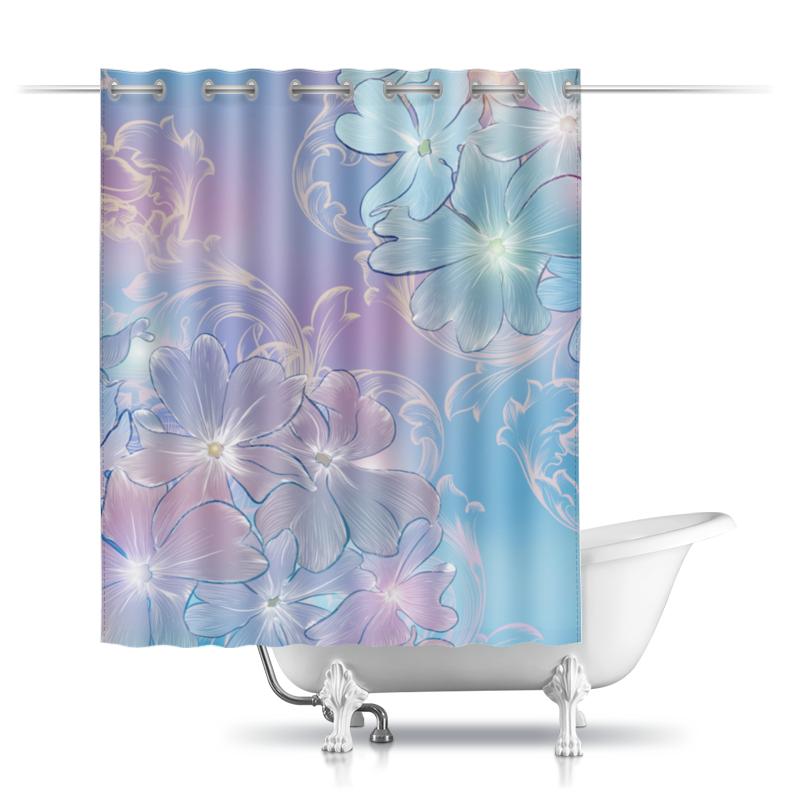 Printio Шторы в ванную Нежные цветы printio шторы в ванную полевые цветы