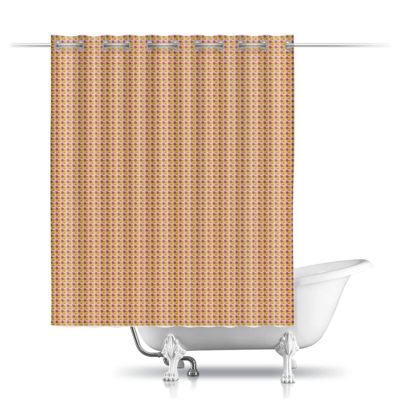 Фото - Printio Шторы в ванную Смайлы printio шторы в ванную черепушка