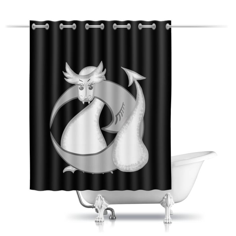 Printio Шторы в ванную Китайский гороскоп - год дракона