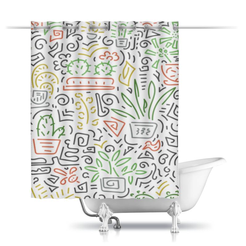 Printio Шторы в ванную Без названия printio шторы в ванную полевые цветы