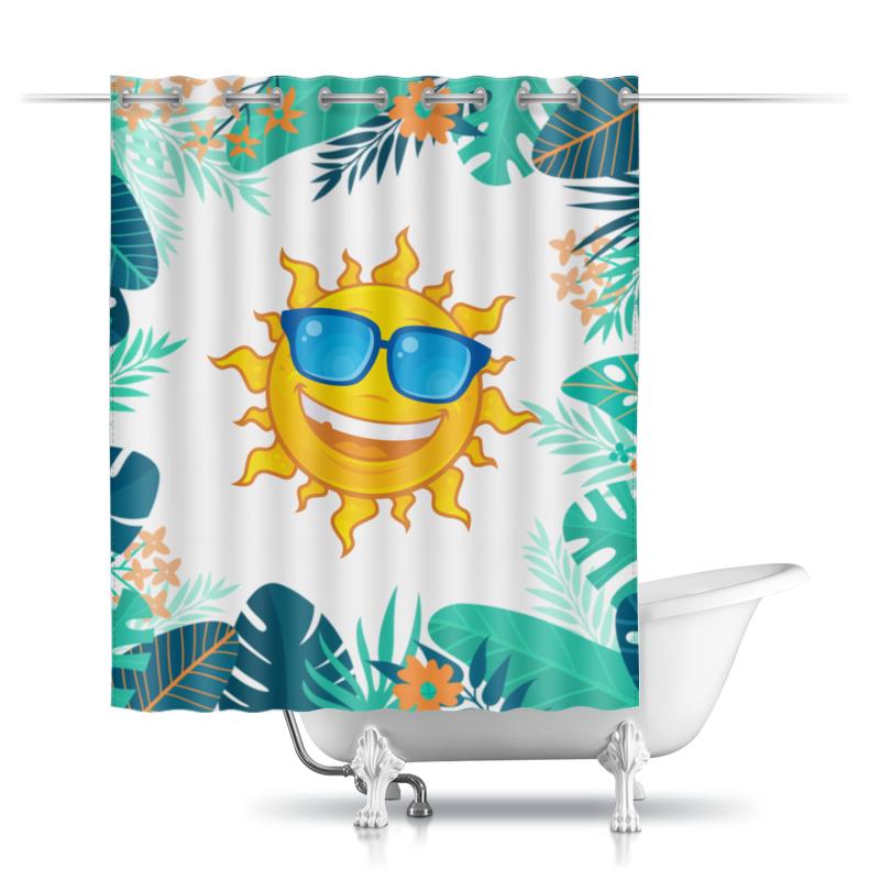 Printio Шторы в ванную Солнце