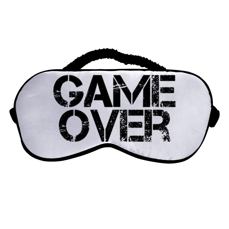 Фото - Printio Маска для сна Game over printio 3d кружка game over