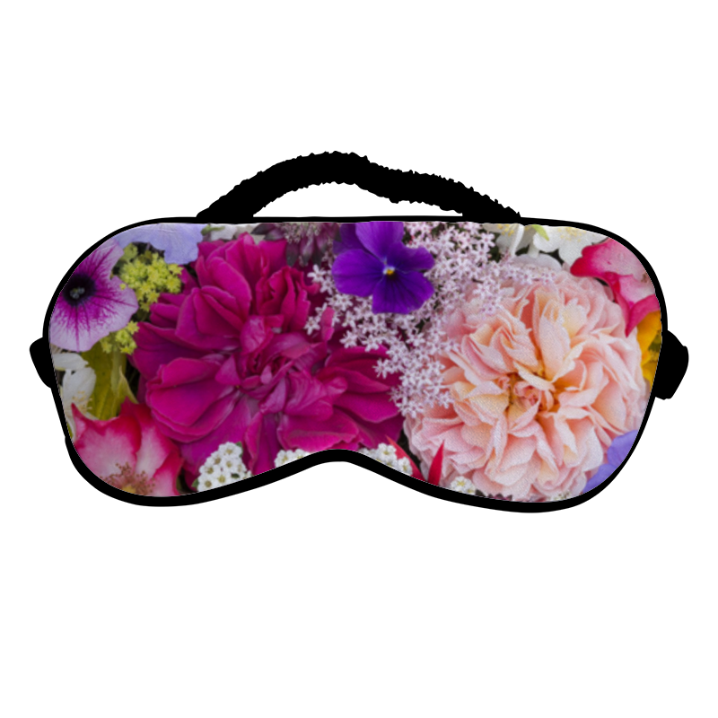 Printio Маска для сна Цветы