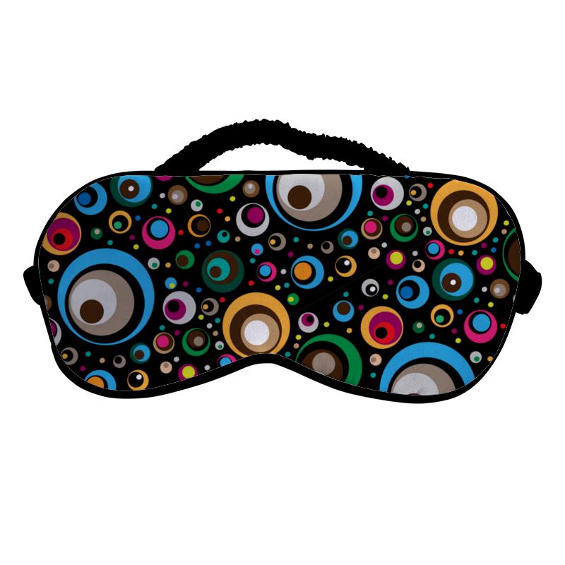 Printio Маска для сна Разноцветные круги