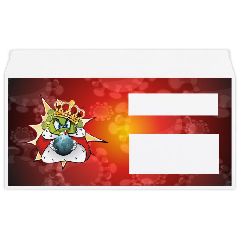 Фото - Printio Конверт маленький Евро Е65 Ковид - царь мира. printio коробка для кружек ковид царь мира