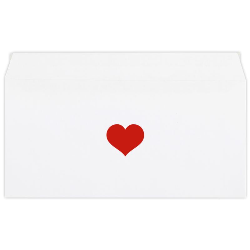 Printio Конверт маленький Евро Е65 Сердце printio конверт маленький евро е65 цветочное сердце