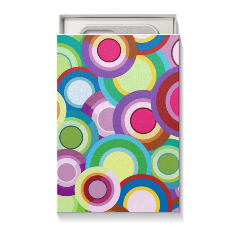 Printio Коробка для чехлов Цветные круги