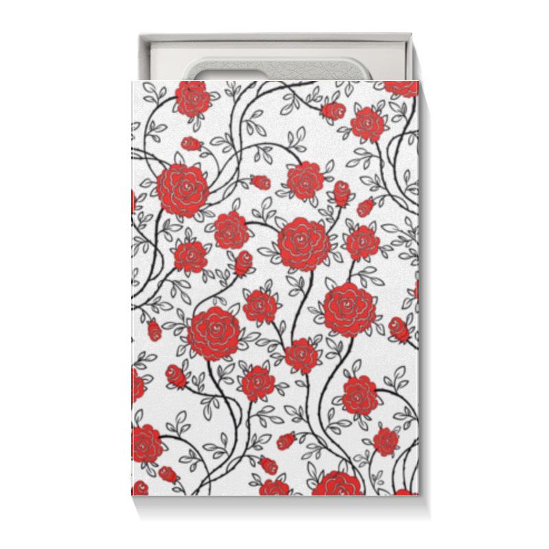 Printio Коробка для чехлов Красные розы