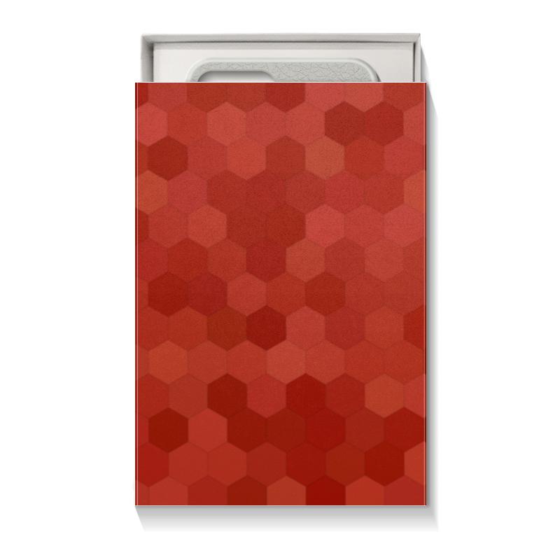 Printio Коробка для чехлов Красная абстракция недорого
