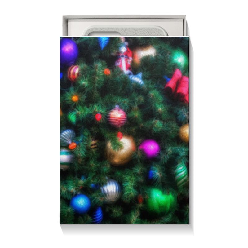 Printio Коробка для чехлов Нарядная елка юбка в складку printio нарядная елка живопись