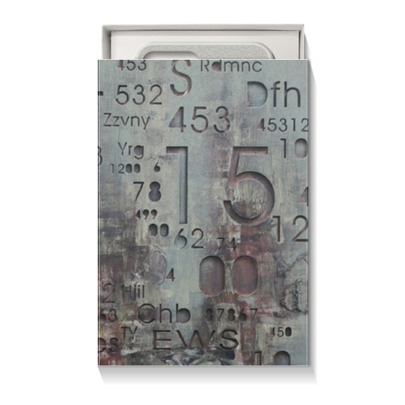Printio Коробка для чехлов Цифры
