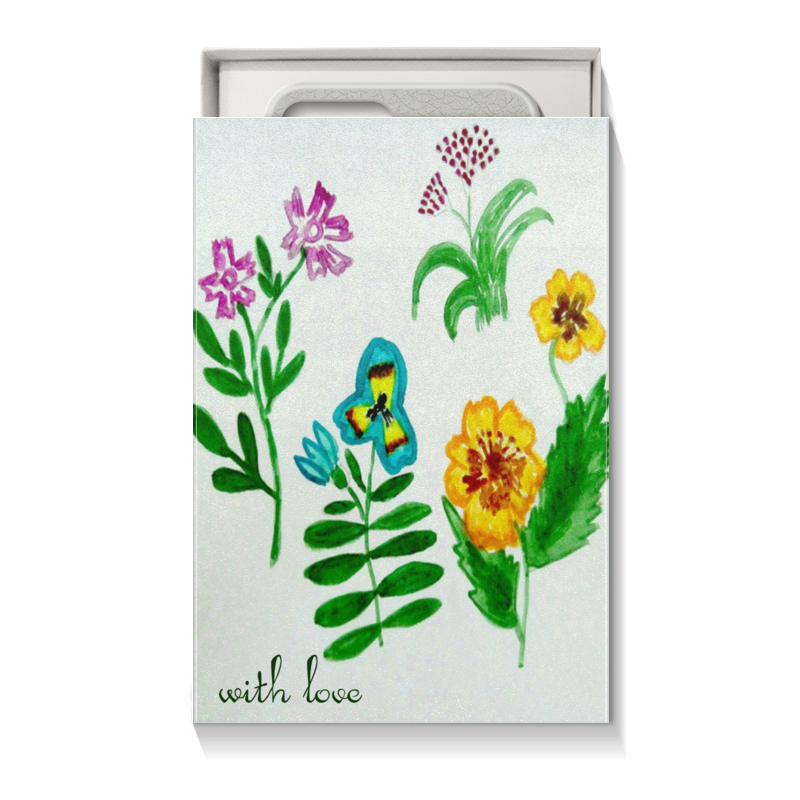 Printio Коробка для чехлов Полевые цветы