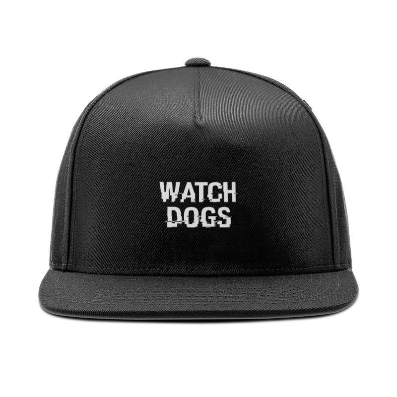 Printio Кепка снепбек с прямым козырьком Watch dogs