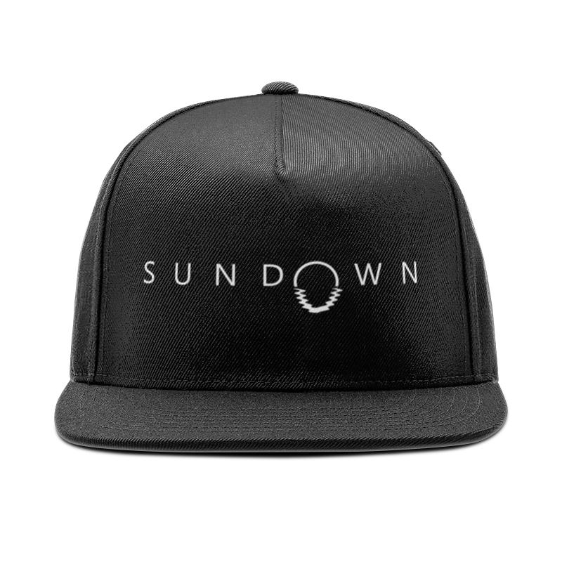 Printio Кепка снепбек с прямым козырьком Sundown недорого