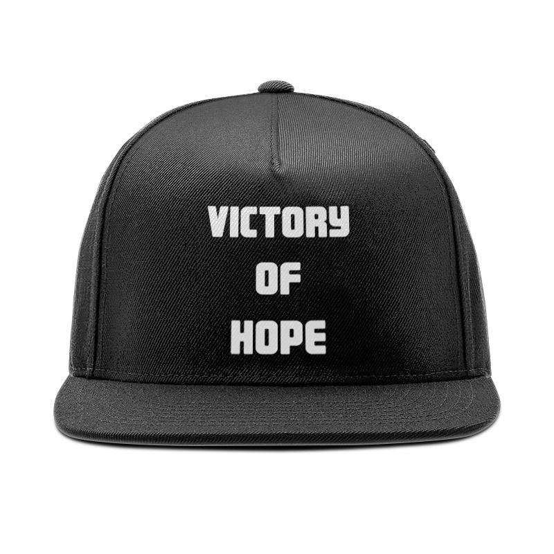 Printio Кепка снепбек с прямым козырьком Victory of hope