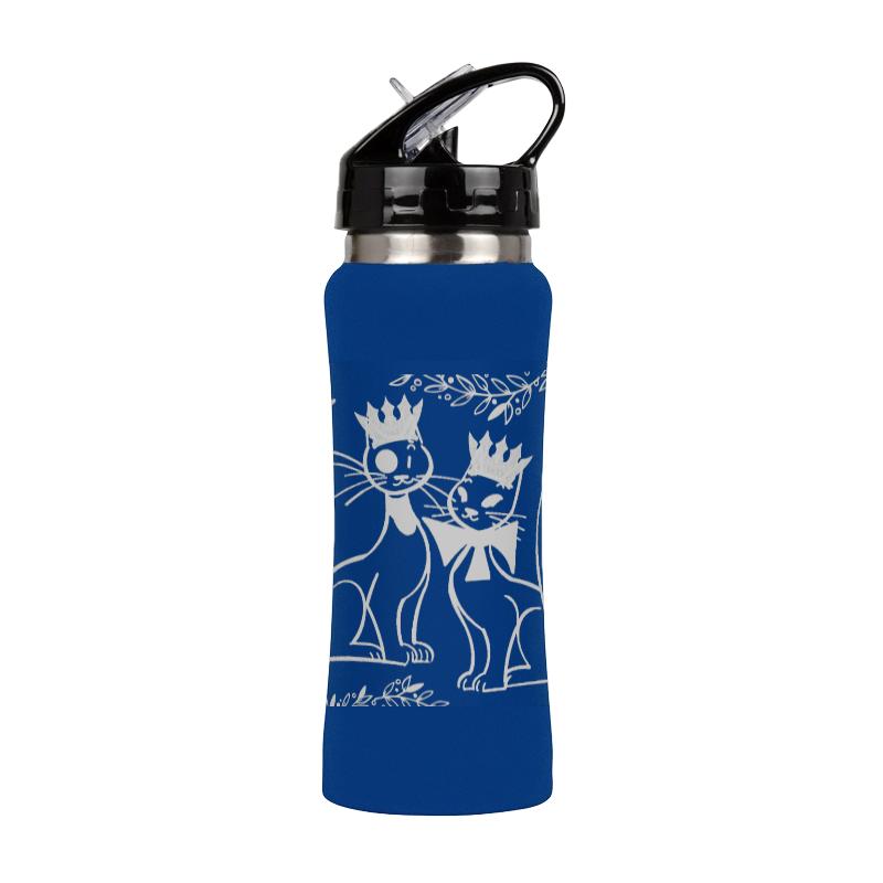 Printio Спортивная бутылка Королевская парочка. спортивная бутылка pinnacle sports красная