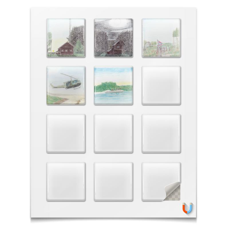 Printio Магниты квадратные 5×5 см Магниты разной тематики