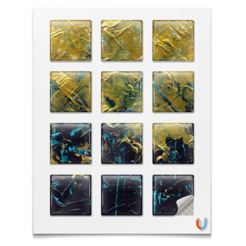 Printio Магниты квадратные 5×5 см Abstract