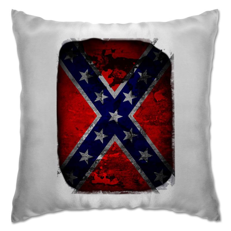 Printio Подушка Флаг конфедерации сша