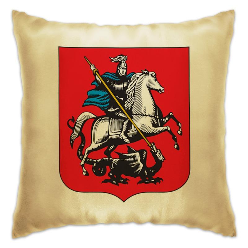 Printio Подушка Герб москвы