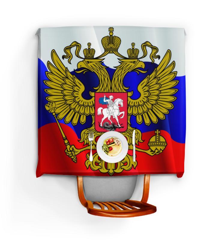 Printio Скатерть квадратная Флаг-герб россии