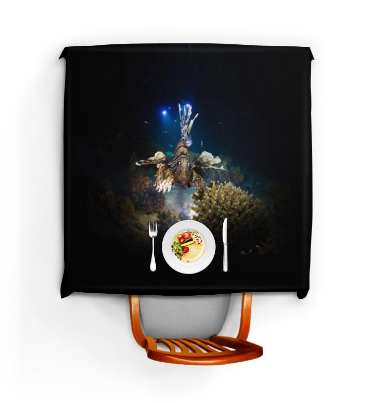 Printio Скатерть квадратная Рыба крылатка printio коробка для кружек рыба крылатка