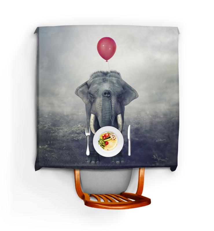 Фото - Printio Скатерть квадратная Красный шар и слон printio скатерть квадратная красный дракон