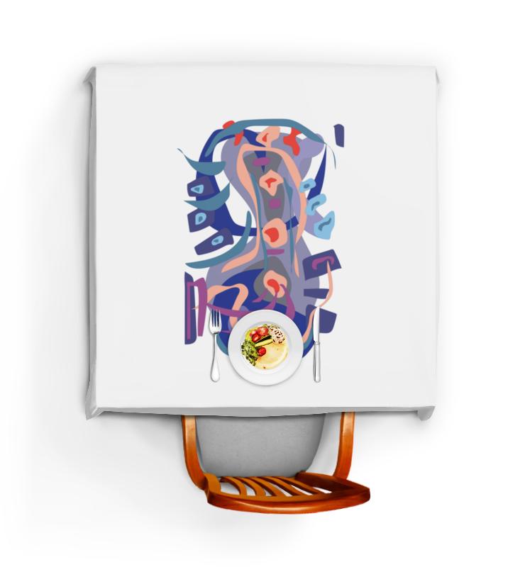 Printio Скатерть квадратная С абстрактным рисунком printio сумка с абстрактным рисунком