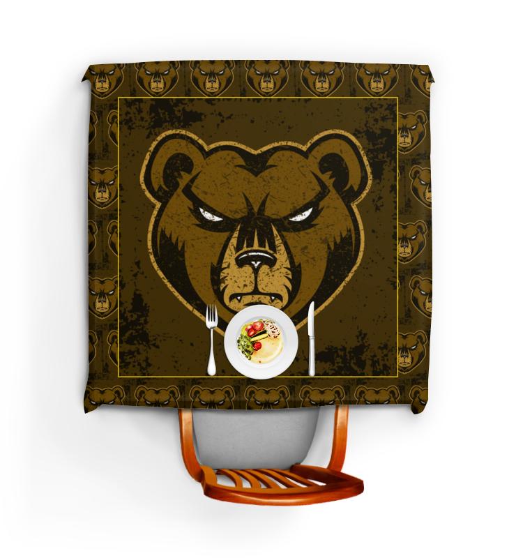 Printio Скатерть квадратная Медведь. символика