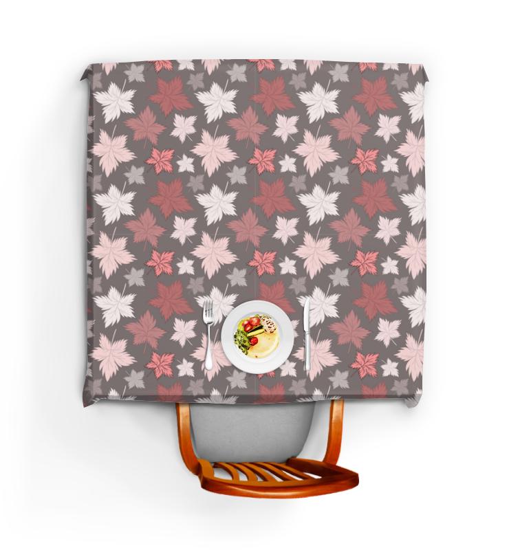 Фото - Printio Скатерть квадратная Кленовые листья - цвета пыльной розы printio скатерть квадратная сердечки и розы