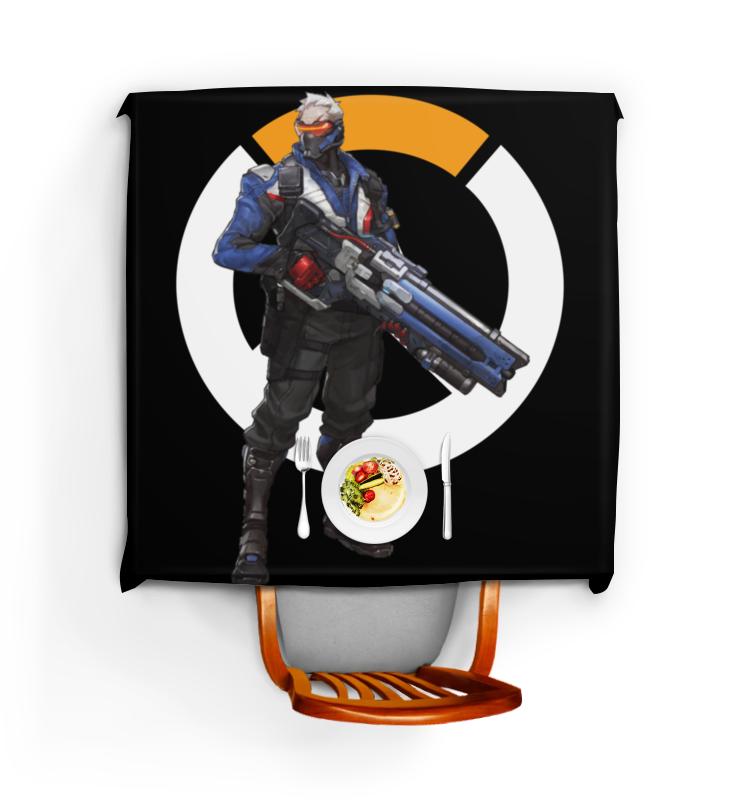 Printio Скатерть квадратная Overwatch soldier 76 / овервотч солдат 76