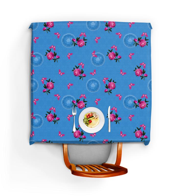 Фото - Printio Скатерть квадратная Малиновые цветы printio скатерть квадратная английский бульдог