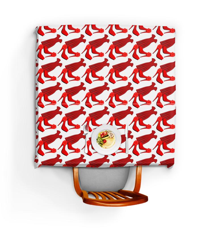 Фото - Printio Скатерть квадратная Бесшовные фактуры, паттерны - стиль, красный printio скатерть квадратная красный дракон