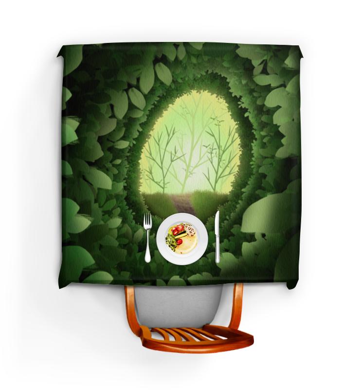 Фото - Printio Скатерть квадратная Таинственный лес printio скатерть квадратная английский бульдог