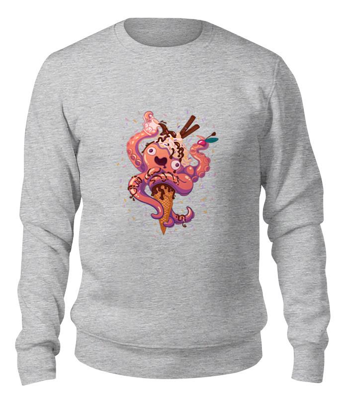 printio детская футболка классическая унисекс крик кальмара Printio Свитшот унисекс хлопковый Крик кальмара