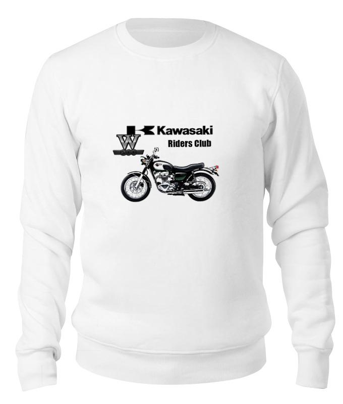 Printio Свитшот унисекс хлопковый Kawasaki w800