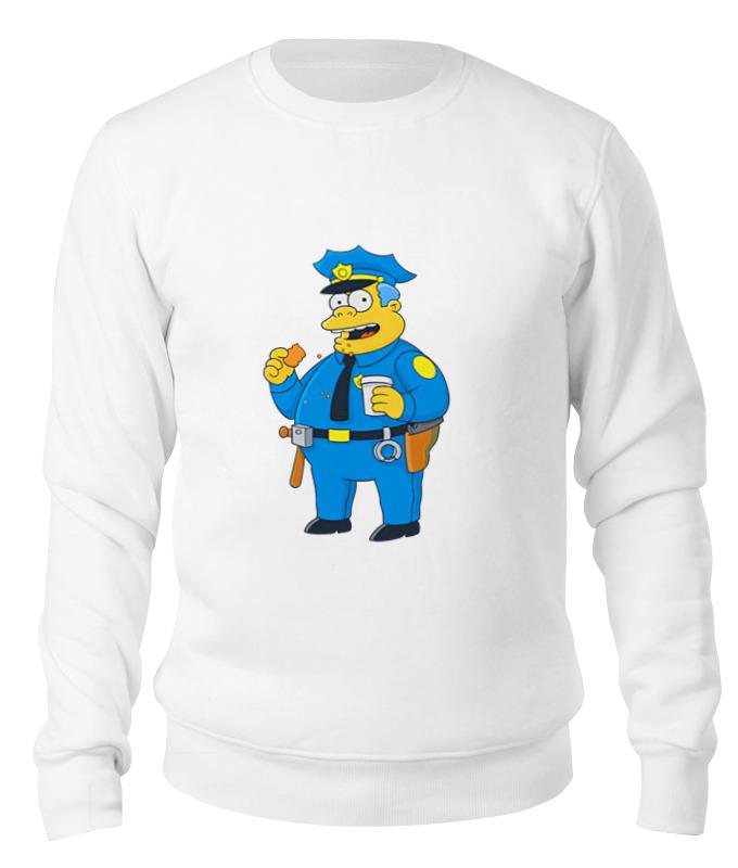 Printio Свитшот унисекс хлопковый Полицейский из симпсонов