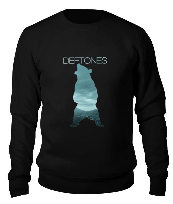 Printio Свитшот унисекс хлопковый Deftones медведь