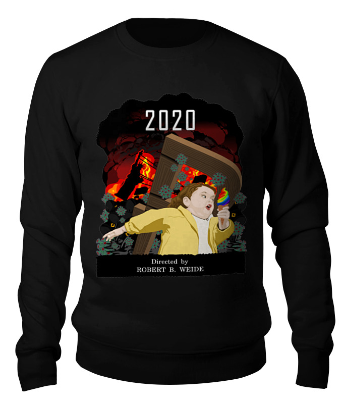 Printio Свитшот унисекс хлопковый 2020 год-катастрофа