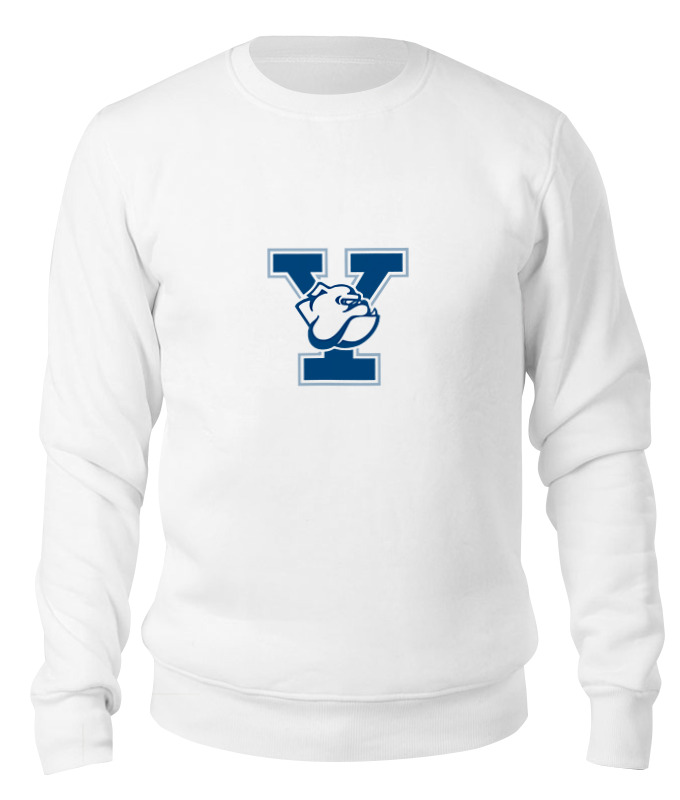 Printio Свитшот унисекс хлопковый Yale bulldogs