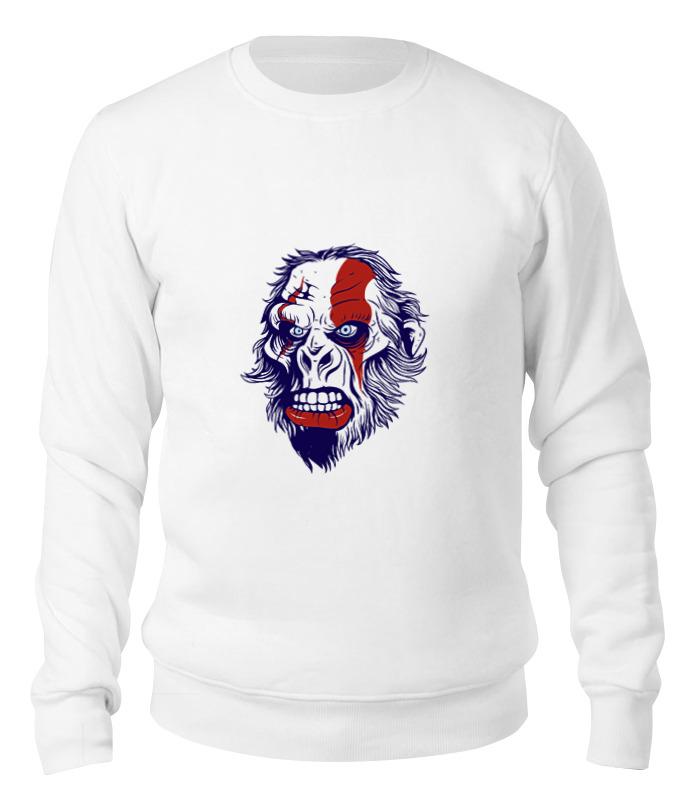 Printio Свитшот унисекс хлопковый Gorilla kratos printio футболка классическая gorilla kratos