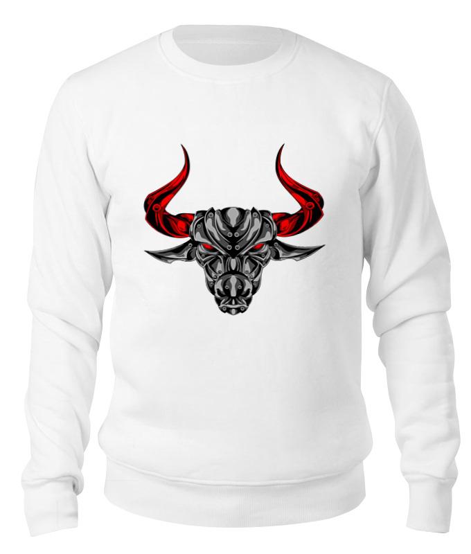Printio Свитшот унисекс хлопковый Железный бык