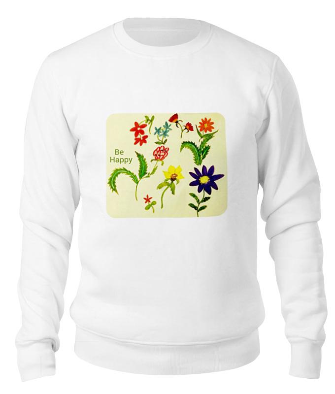 Printio Свитшот унисекс хлопковый Цветы тропиков