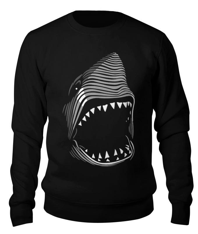 Printio Свитшот унисекс хлопковый Акула( baywatch)