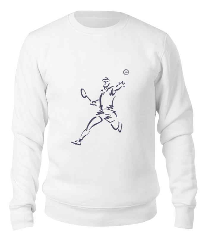 Printio Свитшот унисекс хлопковый Большой теннис