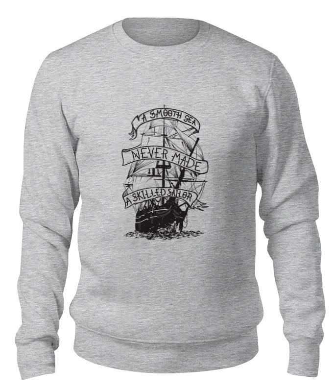 Printio Свитшот унисекс хлопковый Корабль