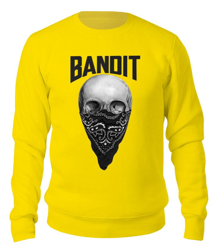 Printio Свитшот унисекс хлопковый Бандит