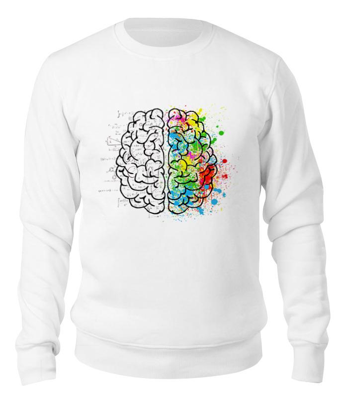 Printio Свитшот унисекс хлопковый Полушария мозга