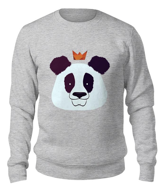 Printio Свитшот унисекс хлопковый Король панда